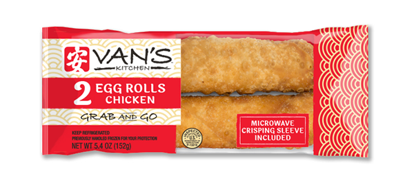 2- Pack Chicken Grab & Go Egg Rolls