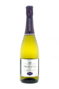 SWINDON, UK - MAY 14, 2014: Bottle of Italian Prosecco on a White background