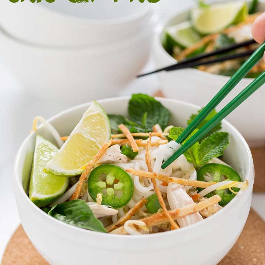 Weeknight Chicken Pho
