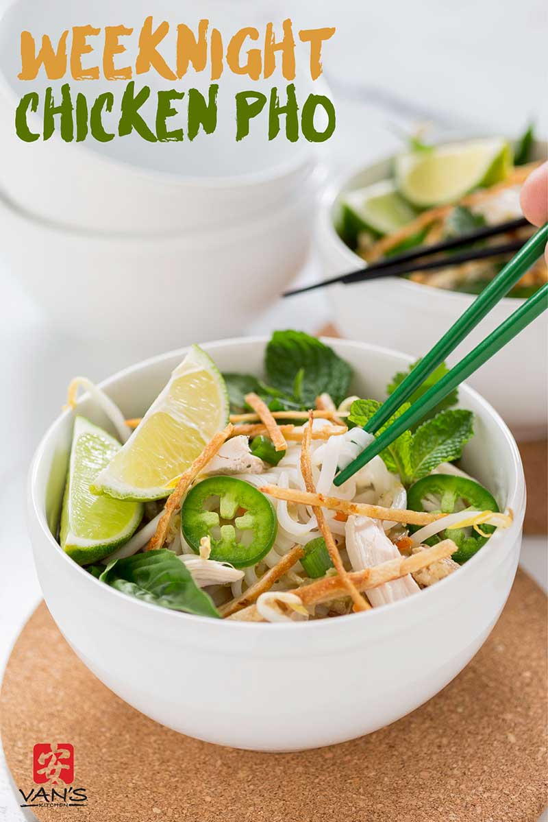 Chicken Pho Bowl