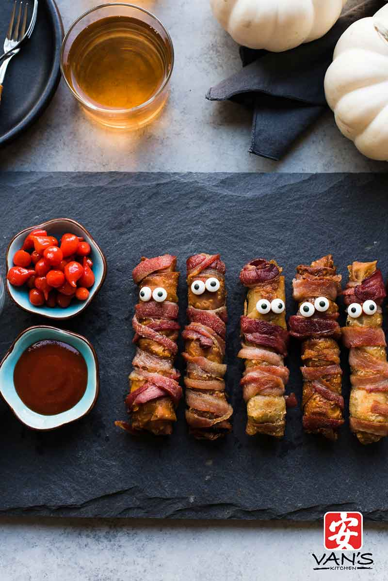 Bacon Cheeseburger Mummy Stix 3